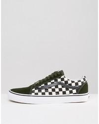 ... Vans 50th Anniversary Old Skool Sneakers In Green Va31z9lvj ae5457d0c