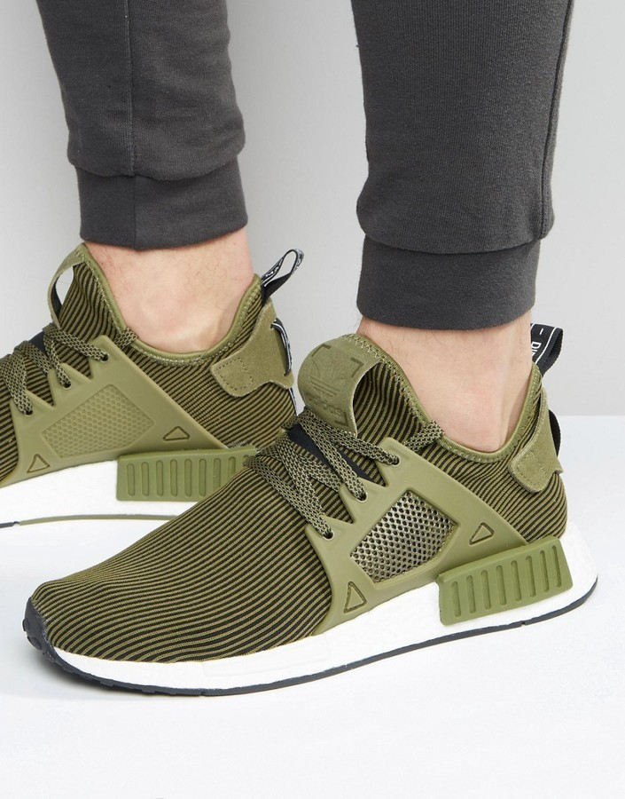 lowest price 84e6e 00b43 $143, adidas Originals Nmd Xr1 Sneakers In Green S32217