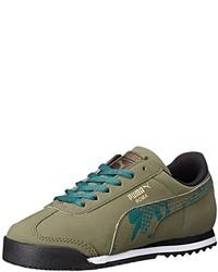 Puma Roma Camo Jr Classic Sneaker