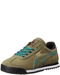 Puma Roma Camo Kids Classic Sneaker
