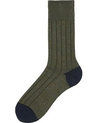 Uniqlo Rib Socks