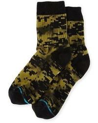 Stance X Dwayne Wade A Tac Socks Olive