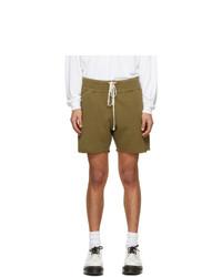 Les Tien Khaki Yacht Shorts