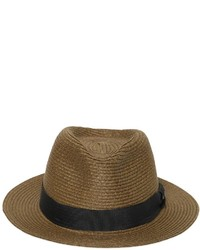 Diesel Pleated Straw Hat