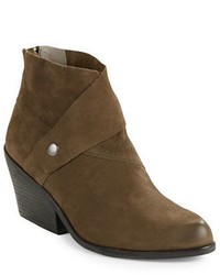 Eileen Fisher Tag Suede Ankle Boots
