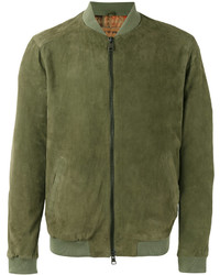 Etro Zip Up Bomber Jacket
