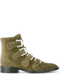 Givenchy Buckled Boots