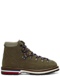 Green suede peak boots medium 5311008