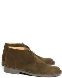 Olive Suede Desert Boots