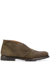Contrast lining desert boots medium 4914193