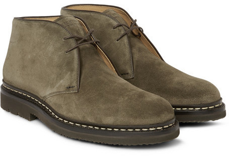 Heschung Genet Suede Chukka Boots   Where to buy & how to wear
