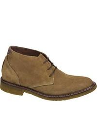 Johnston & Murphy Copeland Chukka Camel Suede Boots