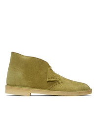 Clarks Originals Khaki Suede Desert Boots