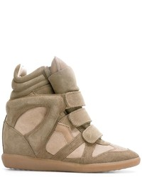 Isabel Marant Hi Top Sneakers