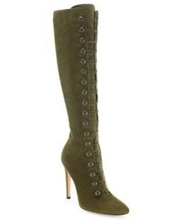 Gianvito Rossi Marais Suede Knee High Boots