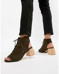 ASOS DESIGN Rascal Lace Up Shoe Boots