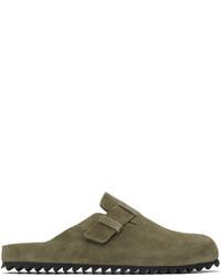 Officine Creative Green Agora 004 Sandals
