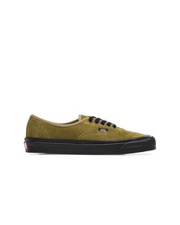 2734e3f06b Vans Green 44 Dx Suede Leather Low Top Sneakers