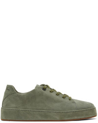 Loro Piana Green Suede Nuages Sneakers