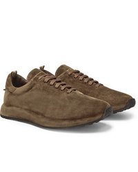 Officine Creative Race Suede Sneakers