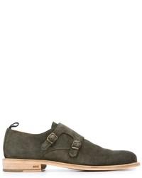 AMI Alexandre Mattiussi Monk Strap Shoes