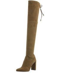 Highchamp suede over the knee boot medium 6711060