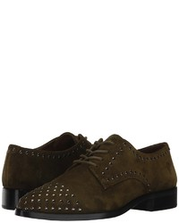 Frye Erica Stud Oxford Lace Up Casual Shoes