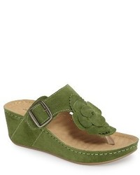 Spring platform wedge sandal medium 4065017