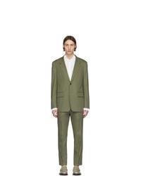 Maison Margiela Green Fine Cotton Suit
