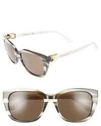 Tory Burch 56mm Cat Eye Sunglasses Black