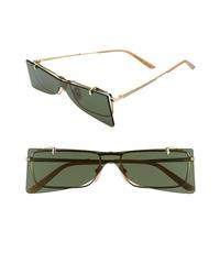 Gucci 56mm Flip Up Sunglasses
