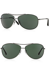 Ray-Ban 63mm Aviator Sunglasses