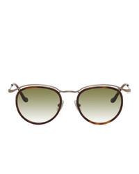 Matsuda And Gold M3093 Sunglasses
