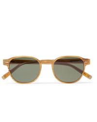 Moscot Arthur Round Frame Acetate Sunglasses