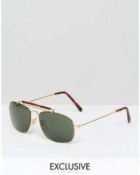 Reclaimed Vintage Aviator Sunglasses