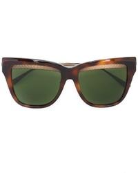 Bottega Veneta Eyewear Square Cat Eye Sunglasses