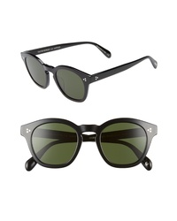 Oliver Peoples Boudreau La 48mm Square Sunglasses