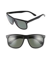 Ray-Ban Boyfriend 60mm Polarized Sunglasses