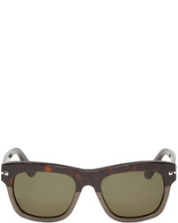 Valentino Brown Grey Studded Sunglasses
