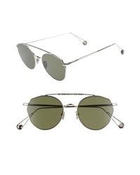 AHLEM Carre 51mm Aviator Sunglasses