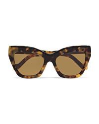 Loewe Cat Eye Tortoiseshell Acetate Sunglasses