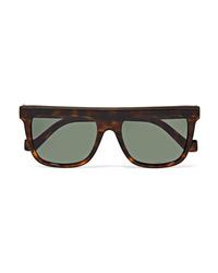 Loewe D Frame Tortoiseshell Acetate Sunglasses