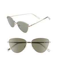 Le Specs Echo 50mm Butterfly Sunglasses