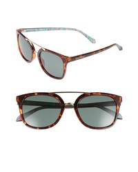 Lilly Pulitzer Emilia 53mm Polarized Sunglasses