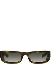 FLATLIST EYEWEAR Green Bricktop Sunglasses