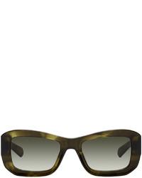 FLATLIST EYEWEAR Green Norma Sunglasses