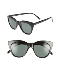 Le Specs Halfmoon Magic 52mm Polarized Sunglasses