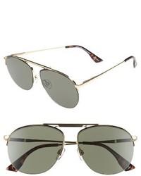 Liberation 57mm aviator sunglasses gold medium 1249599