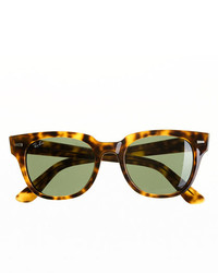 Ray-Ban Meteor Sunglasses With Green Lenses