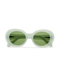 Acne Studios Mustang Round Frame Acetate Sunglasses